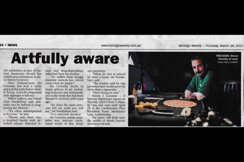 Steven Coventry article