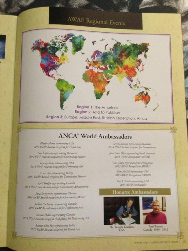 Fall issue NA mag 2015 regional map 2