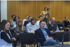 Q & A post film screening Bled, Slovenia