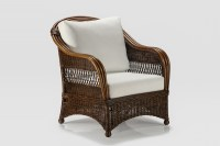 Wicker Accent Chairs. Bohol Armchair Naturally Cane Rattan ...