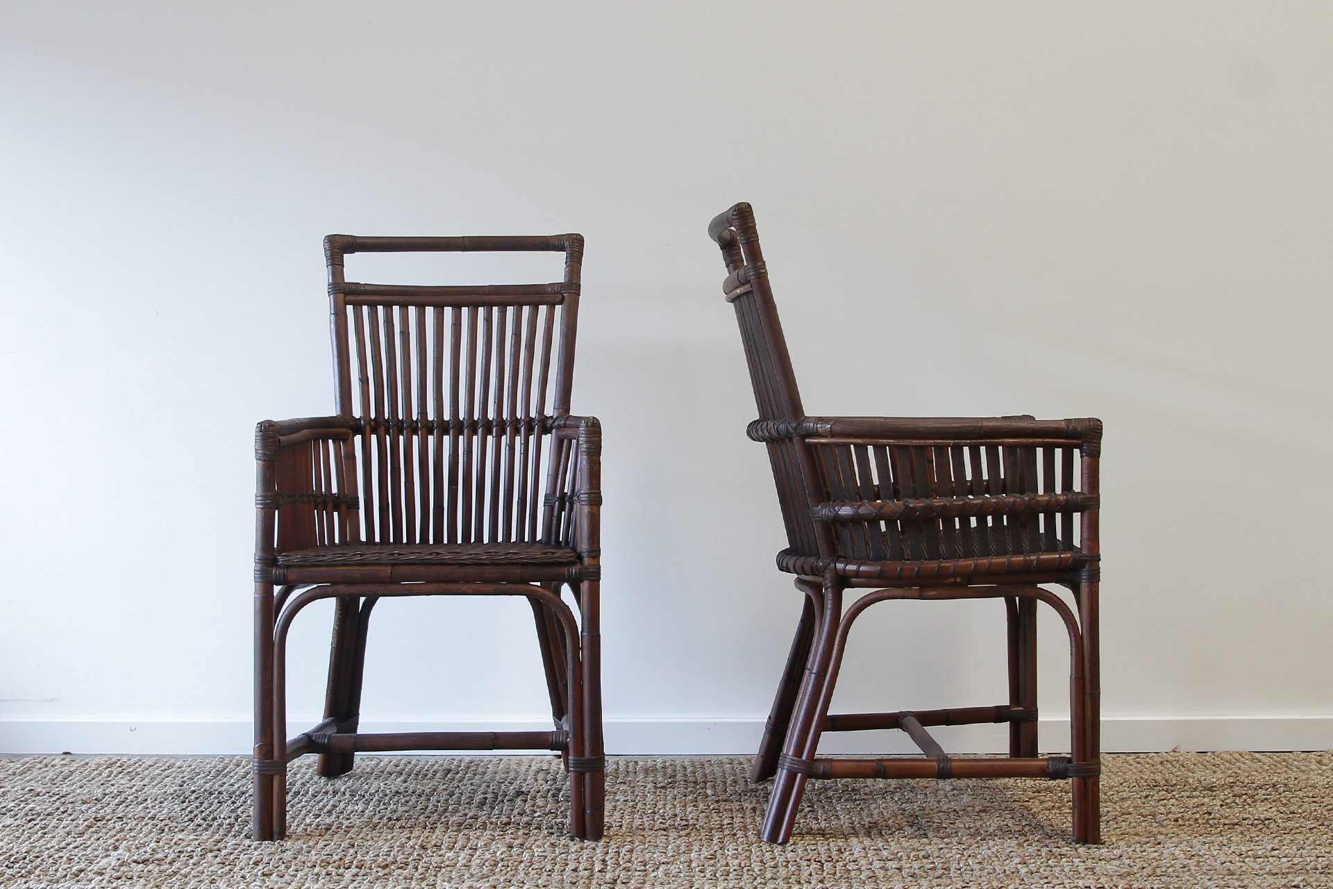 bamboo dining chairs gold coast chair gym replacement bands lovely wicker rtty1