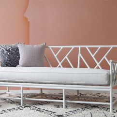 Bedroom Sofa Bed Flowered Sofas Outdoor Palm Springs Daybed | Naturally Cane Rattan And ...