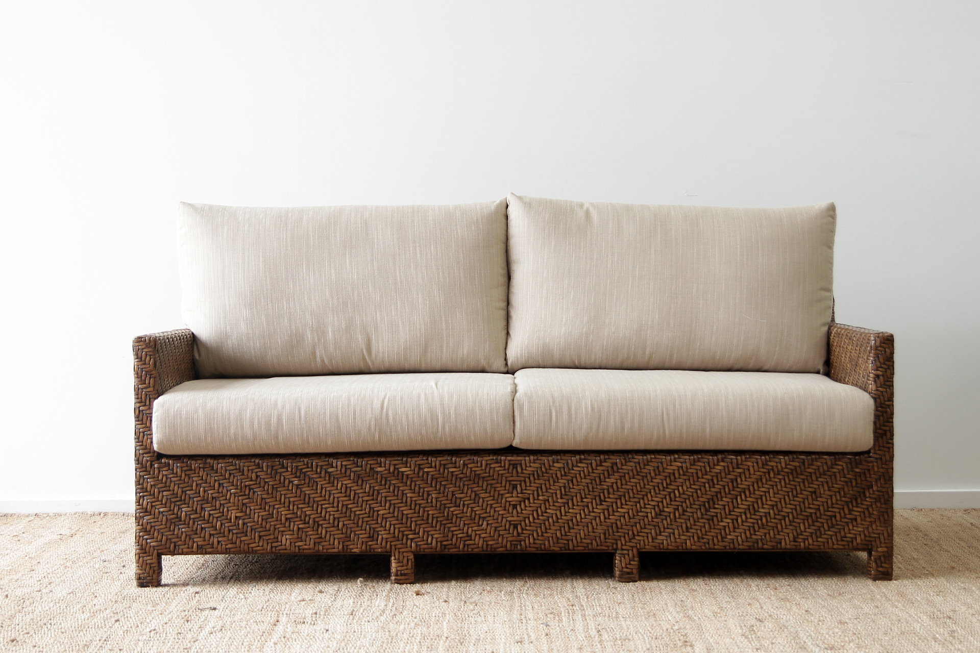 sienna sofa sleeper gray sectional with chaise bed double size naturally cane rattan and