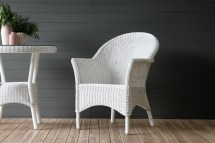 Batavia Fine Weave Dining Chair Naturally Cane Rattan
