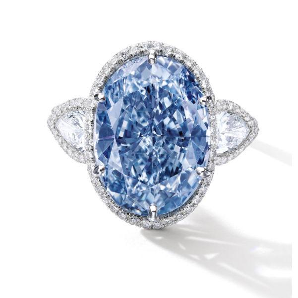 A Blue Diamond worth 35 Million Meet the De Beers