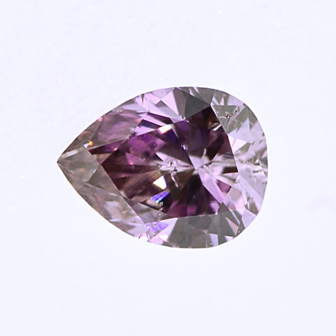 Pink Diamond Fancy Deep Brownish Purple Pink 014 Carat