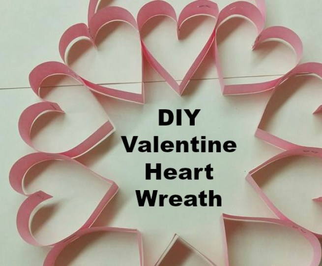 Easy Diy Valentine Heart Wreath Naturally Cracked