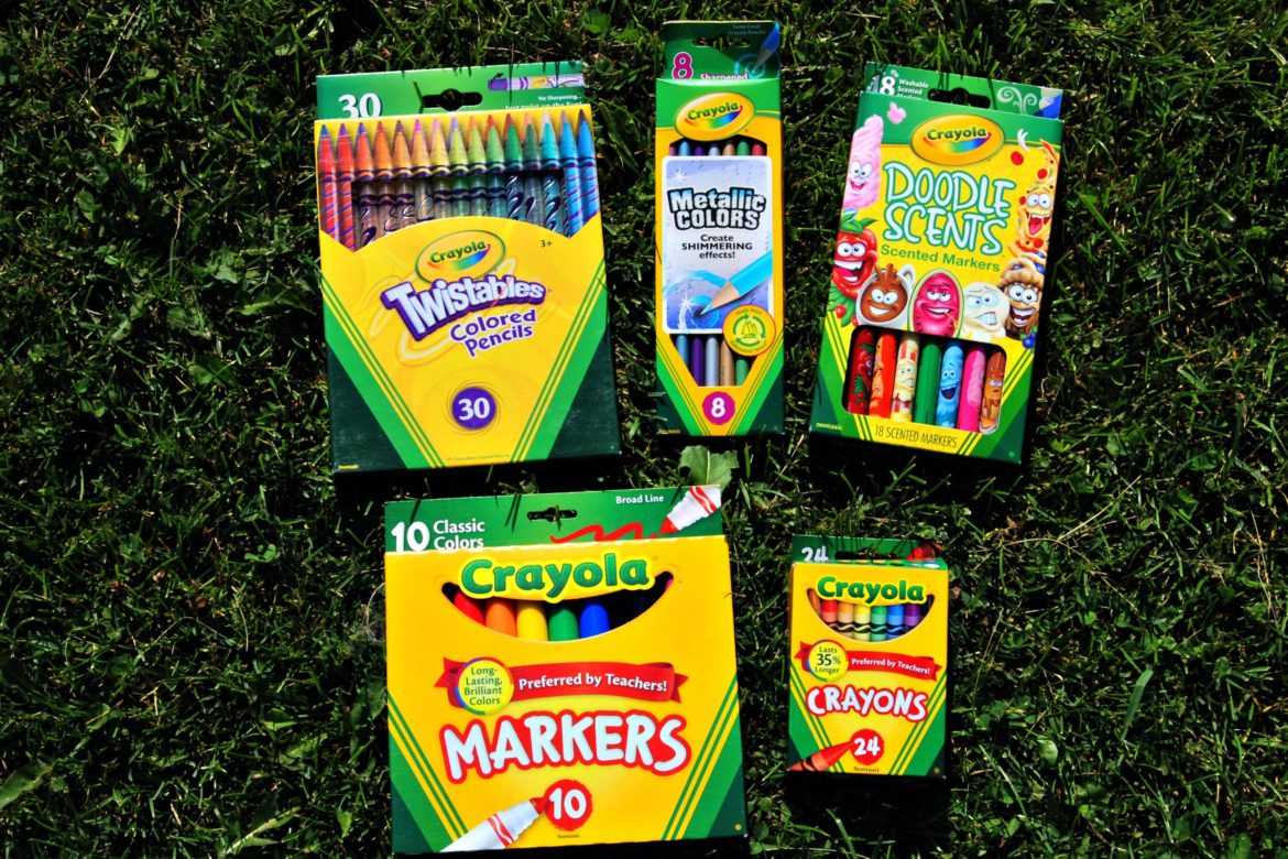 Crayola - Adding Quality and Colour To Our Pencil Box - Naturally ...