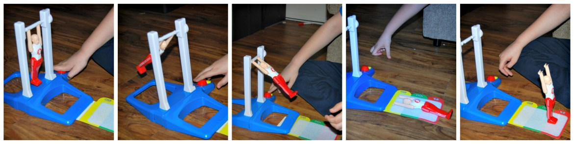 Hasbro - Fantastic Gymnastic Game