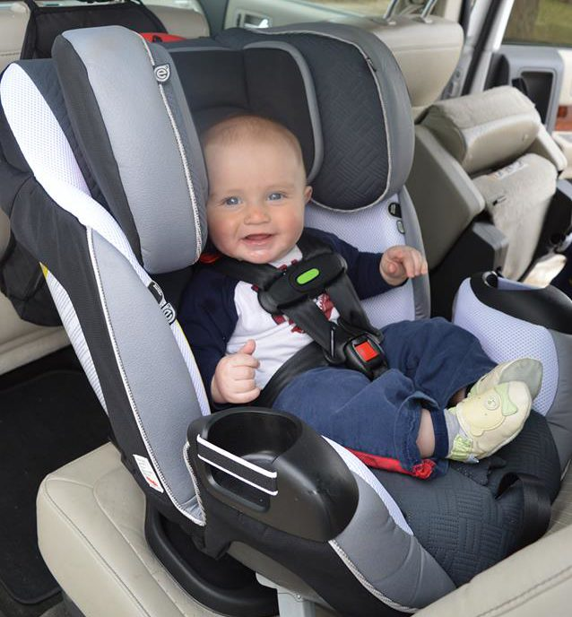 Evenflo SensorSafe Symphony Deluxe All-In-One Car Seat
