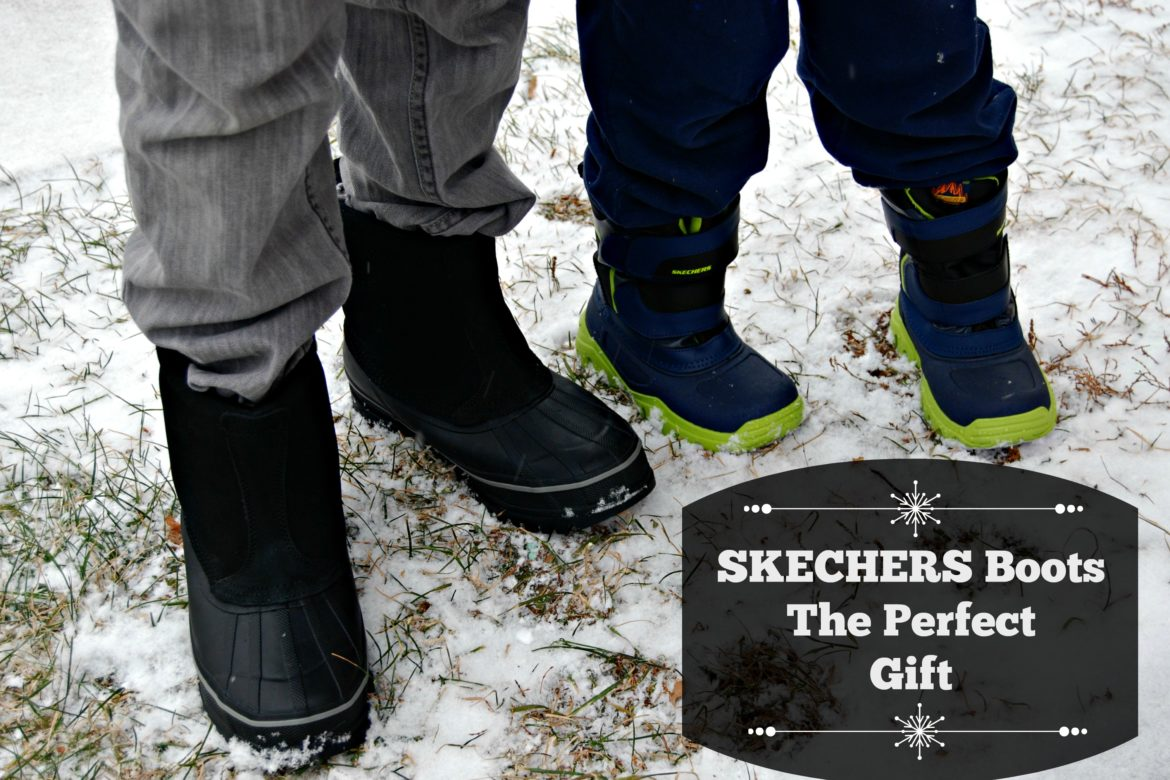 SKECHERS Boots The Perfect Gift Naturally Cracked