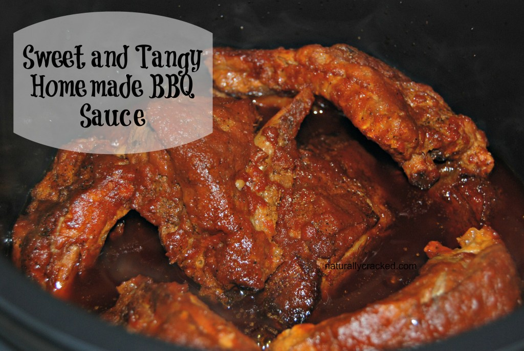 Sweet and Tangy Homemade BBQ Sauce