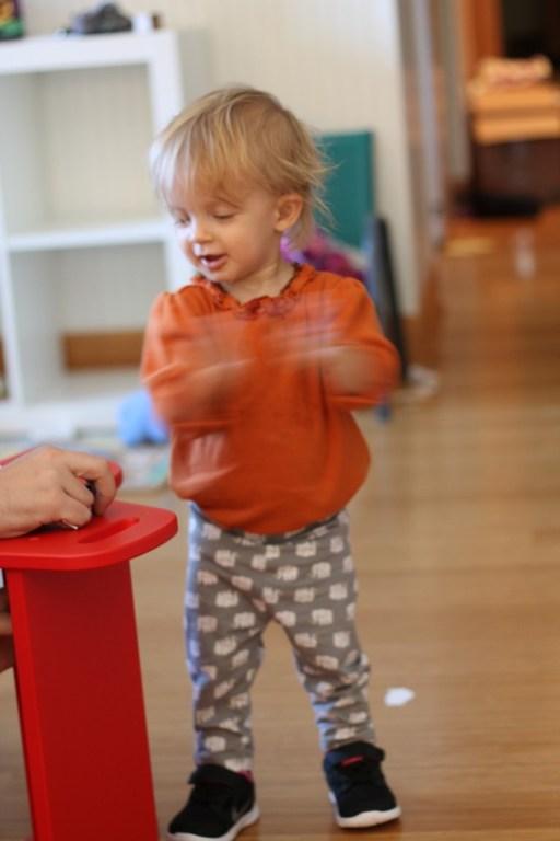 Daddy's Lil Helper- Edith Oct 2013 - Clap