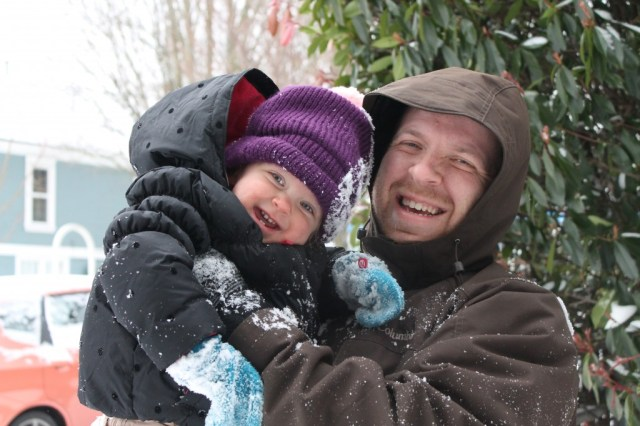 snowday e and dada