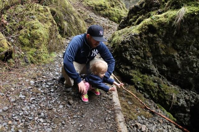 Falls Hike- Rock Toss