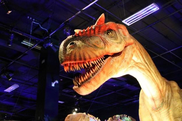 OMSI Dino Exhibit
