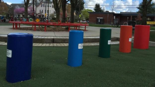 Portland Area Parks - Dawson Park - Bongo Drums