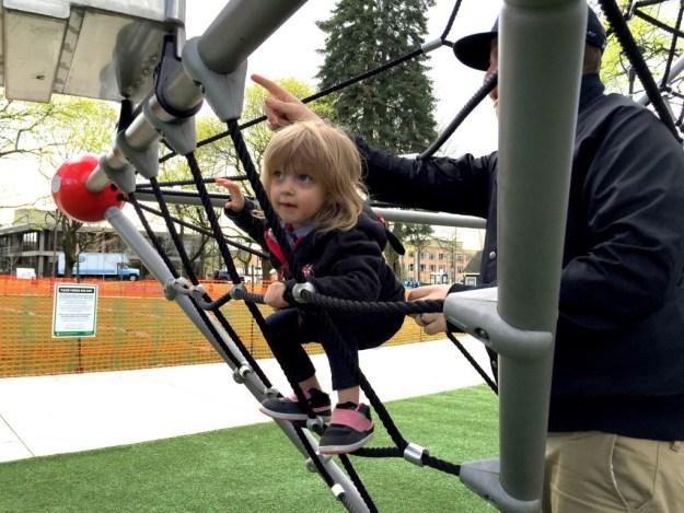 Portland Area Parks - Dawson Park - Edith Climb