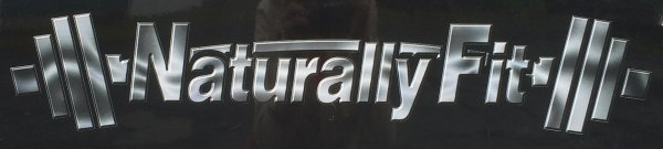 """Naturally Fit """"Chrome Style"""" Car Decal"""