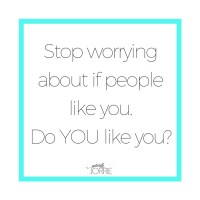 #ConfidenceCheck: Worrying about if you're liked