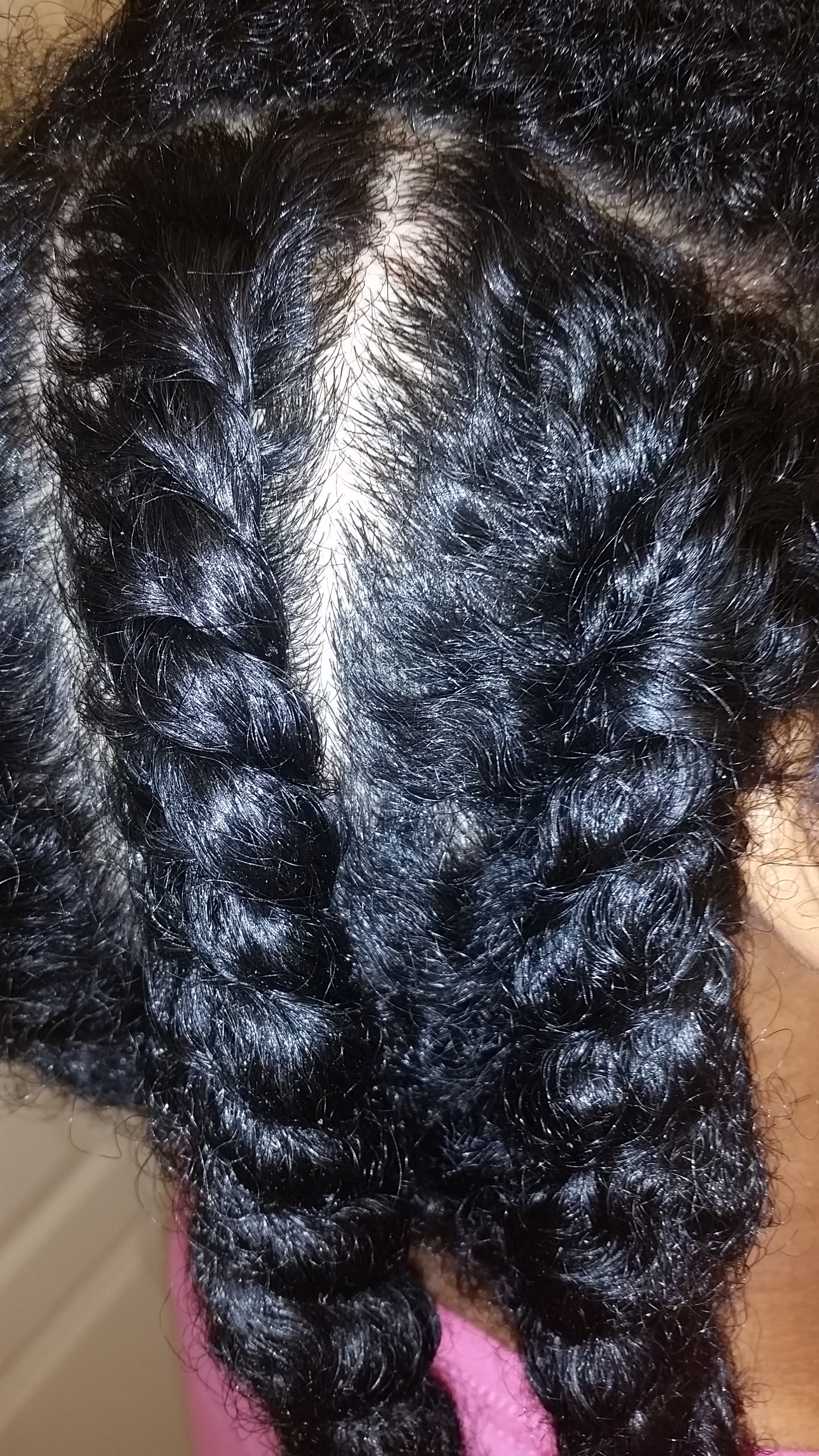 Flat Twists On Natural Hair Naturally LP