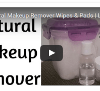 DIY Makup Remover Wipes
