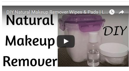 DIY Makup Remover Wipes