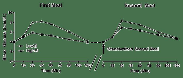 Der Second Meal Effect und seine Auswirkung auf den Blutzuckerspiegel