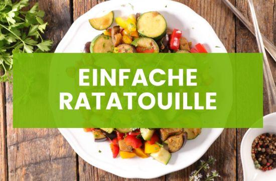 Einfache Vegane Ratatouille