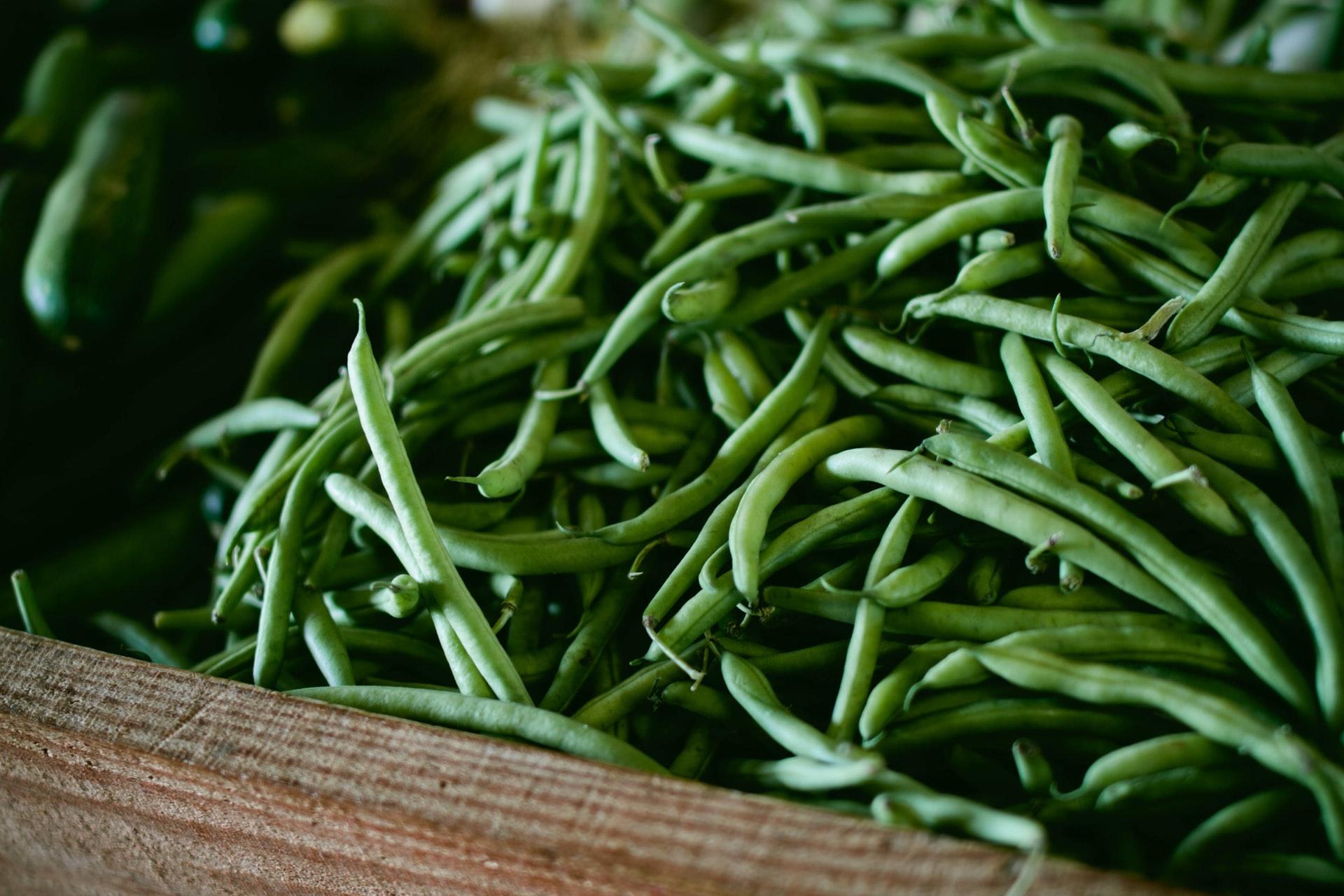 Saisonkalender Juli - Grüne Bohnen