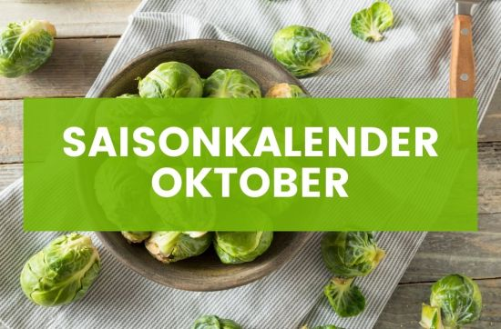 Saisonkalender Oktober Rosenkohl