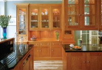 home interior: Wooden Kitchen Furniture