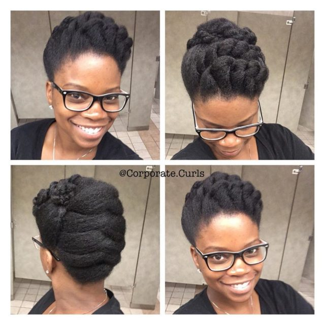 8 natural hairstyles for work to try this week - naturally