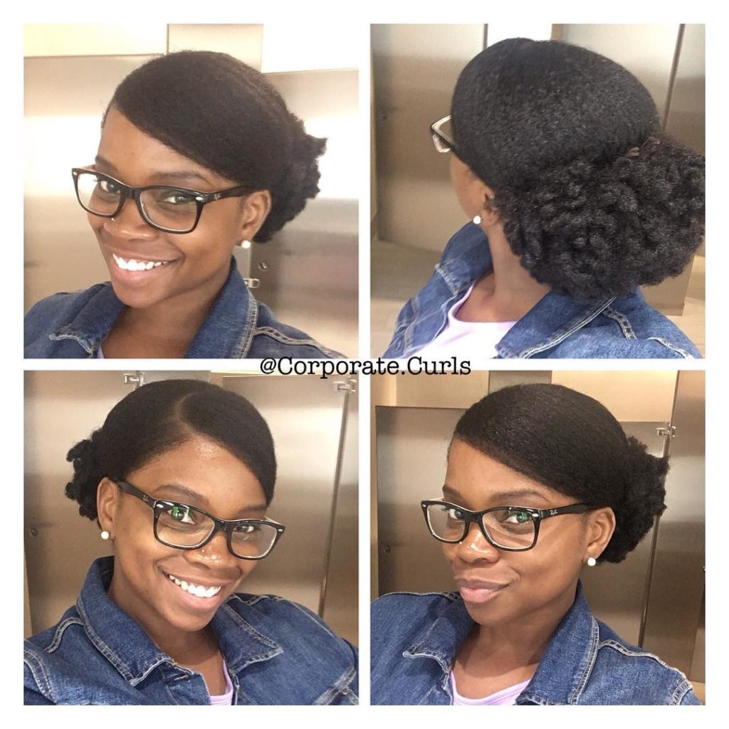 8 Natural Hairstyles For Work To Try This Week Naturally You