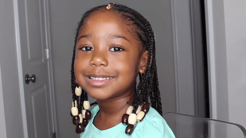 Kids Fulani Inspired Braid Hairstyle Tutorial Naturally You