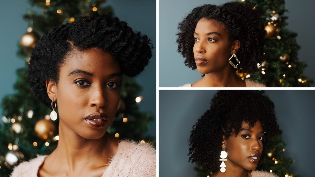 3 Easy Natural Hairstyles For The Holidays 2019 Naturally You