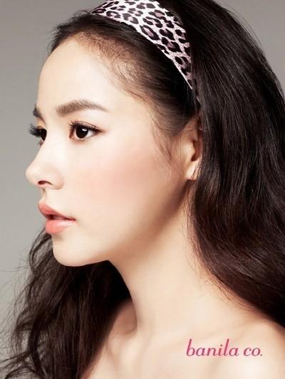 min hyorin modella sud coreana in uno scatto per banila