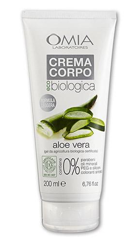 Crema Corpo Ecobiologica all'Aloe Vera Omia