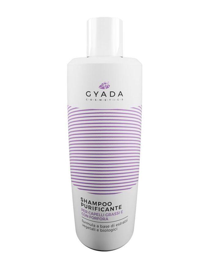 Shampoo purificante gyada flacone (foto ufficiale dell'azienda).