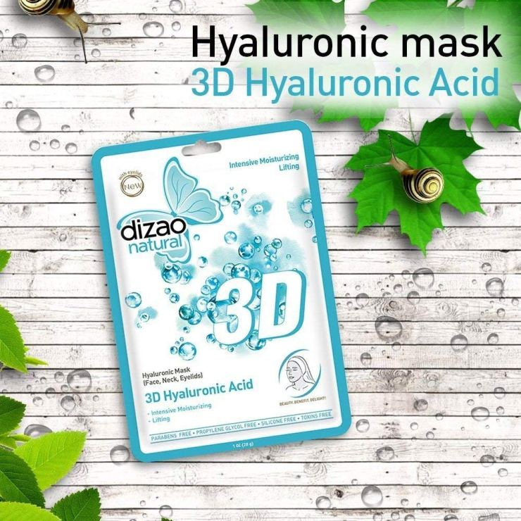 3D Hyaluronic Acid Mask Dizao Natural
