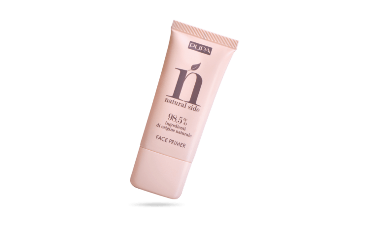 Natural side face primer pupa