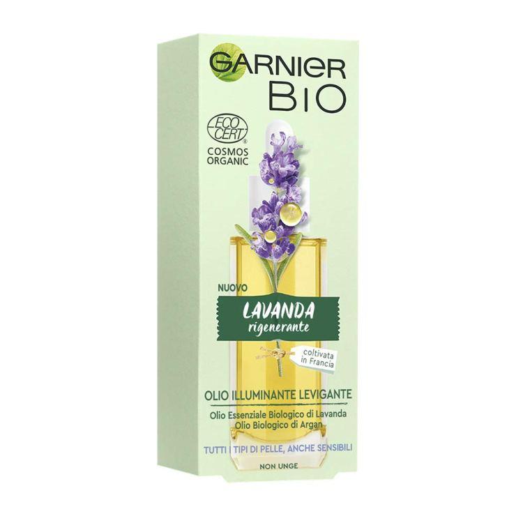 Olio Illuminante Levigante alla lavanda Garnier Bio