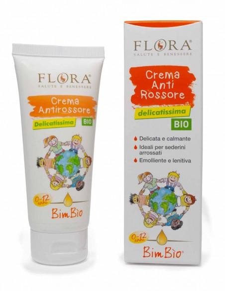 crema antirossore bimbio flora
