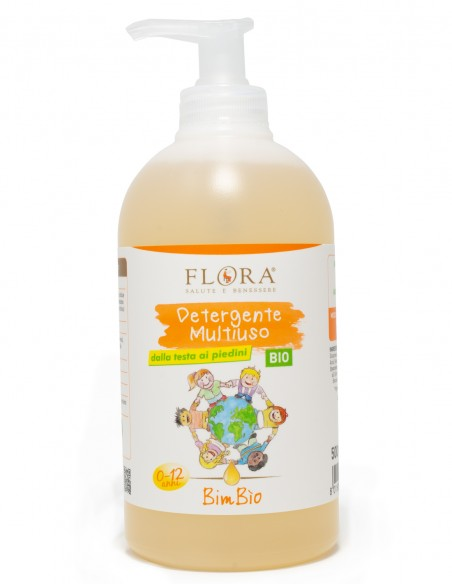 detergente multiuso bimbio flora