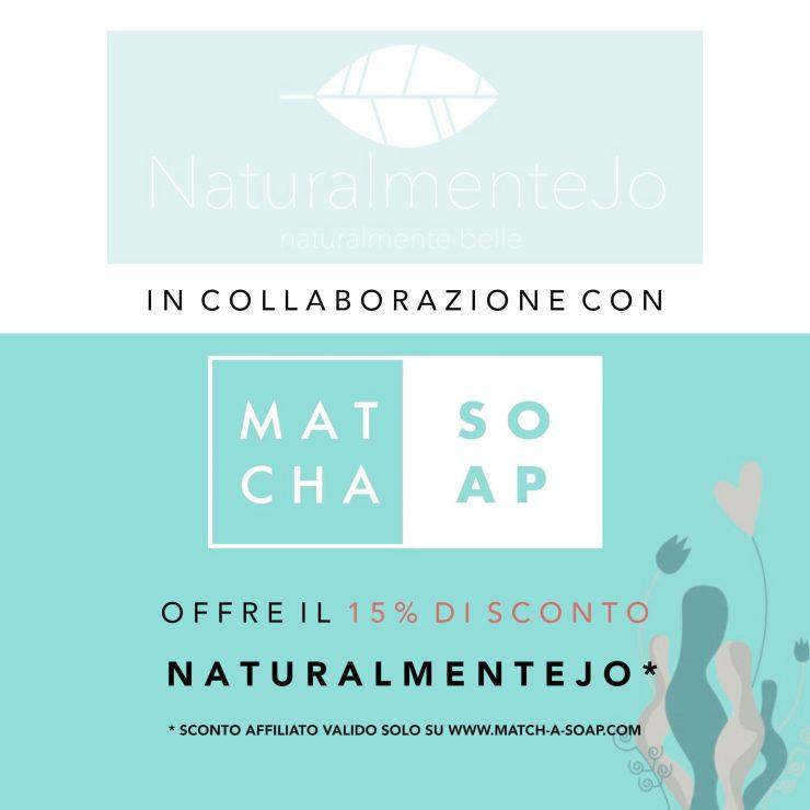 CODICE SCONTO MATCH-A-SOAP 15%: naturalmentejo
