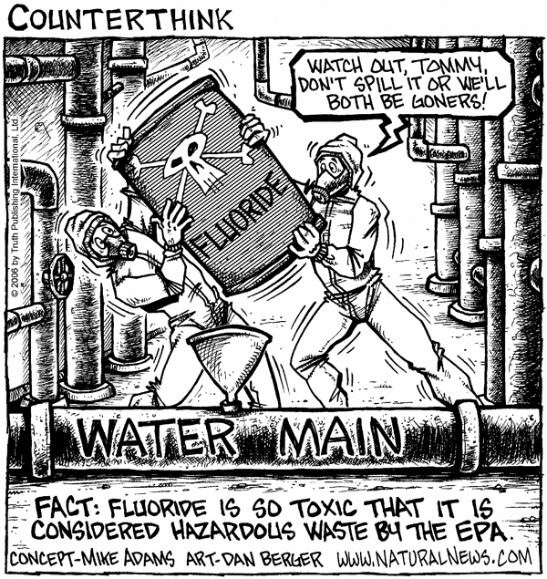 American Tap Water A Toxic History Static - Sodium fluoride drinking water mapping in the us