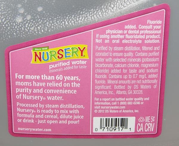 Bombshell: armas químicas Syrias resultan ser fluoruro de sodio se utiliza en los EE.UU. el suministro de agua Nursery agua fluoruro de sodio 600