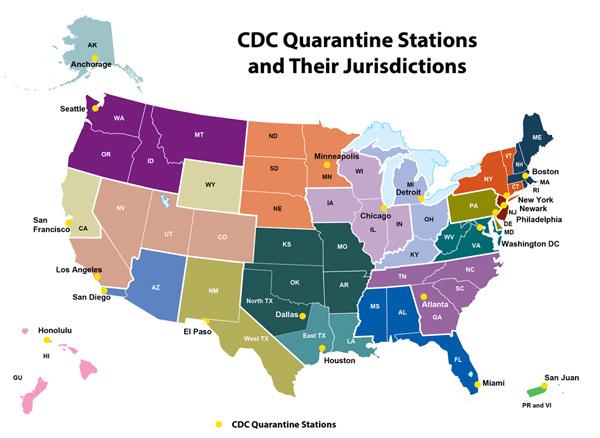 CDC Quarantine Stations 600