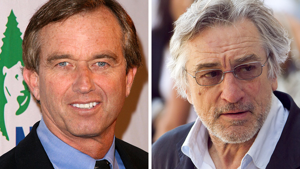 Image: Robert De Niro, Robert F. Kennedy Jr. to announce something BIG tomorrow concerning vaccines and mercury