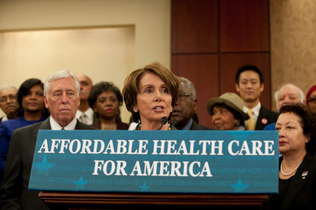 Image: HYPOCRISY: Nancy Pelosi now says Americans have a right to know what's in Obamacare repeal BEFORE it passes